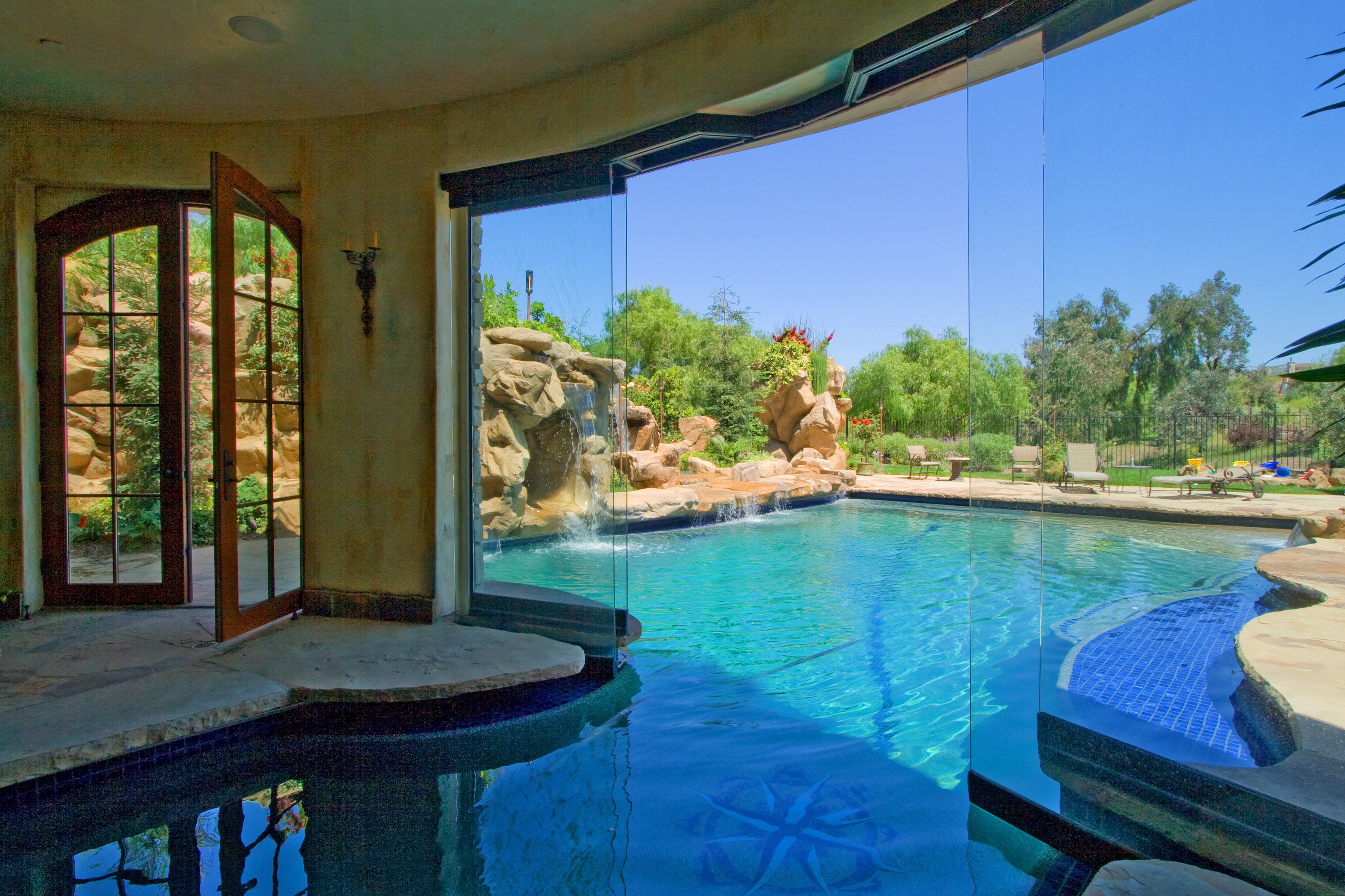 French chateau arc design grouparc design group for Convert indoor pool table to outdoor